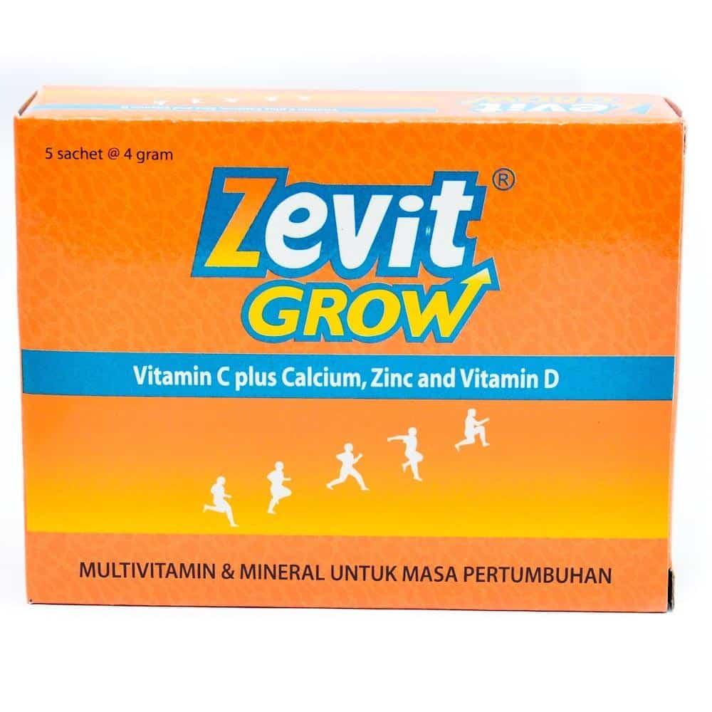 Zevit-Grow-Multivitamin-dan-Mineral