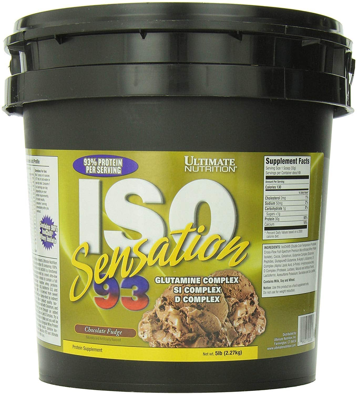 Susu Ultimate Nutrition ISO Sensation 93