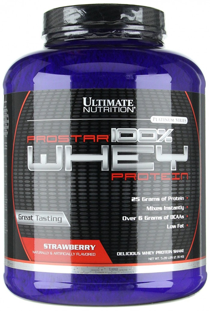 Susu Ultimate Nutrition Prostar 100% Whey Protein