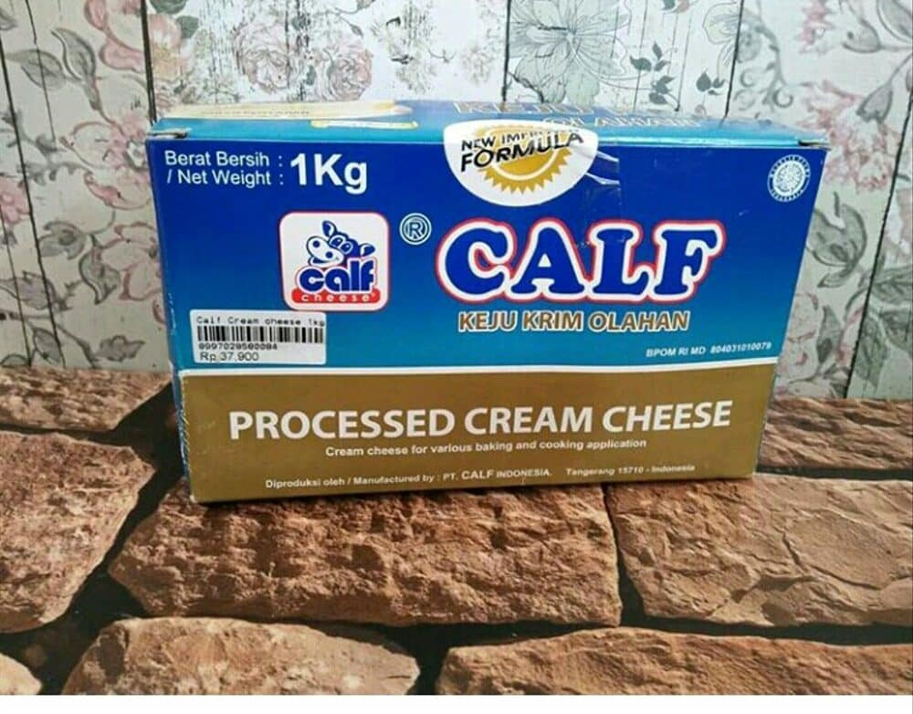 10. Calf Processed Cream Cheese