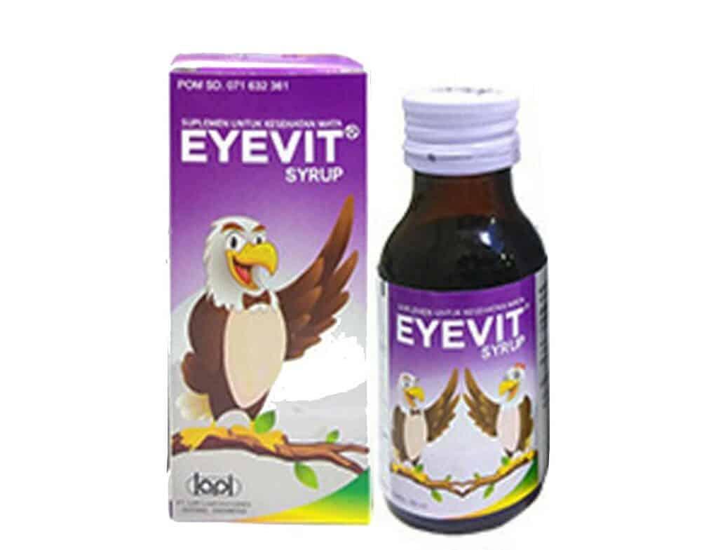6. Eyevit Syrup Suplemen