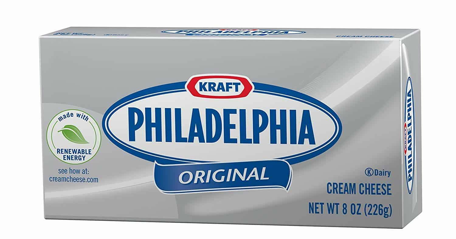 4. Kraft Philadelphia Cream Cheese