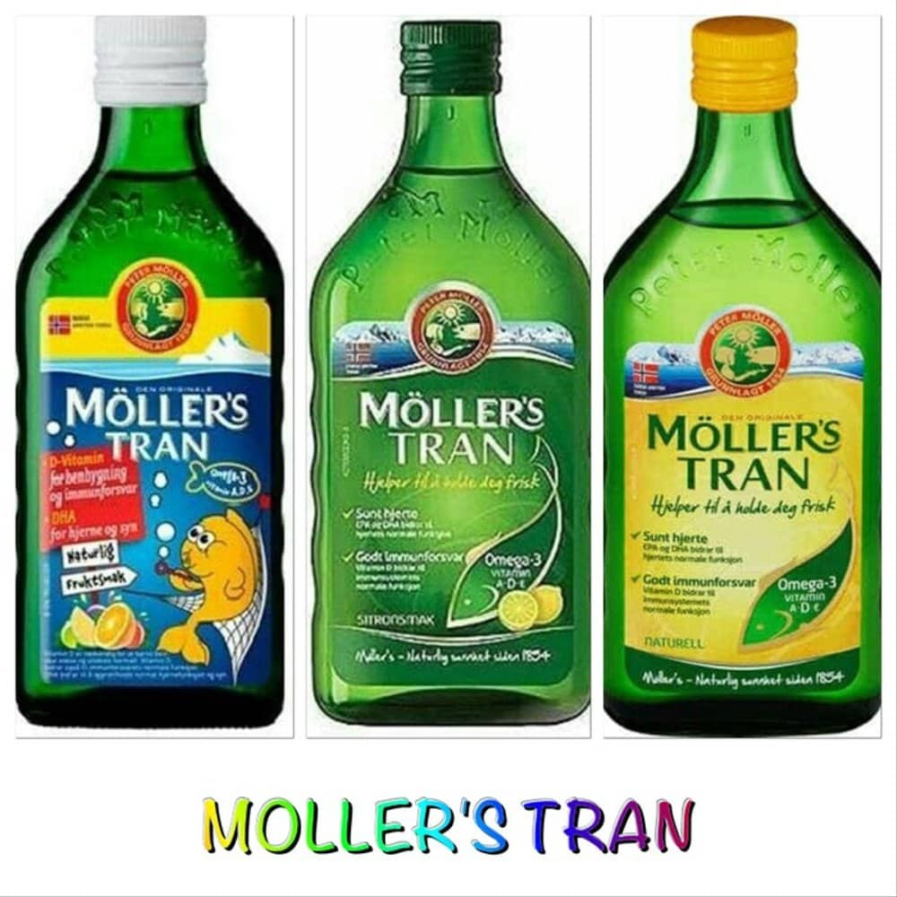1. Moller's Cod Liver Oil