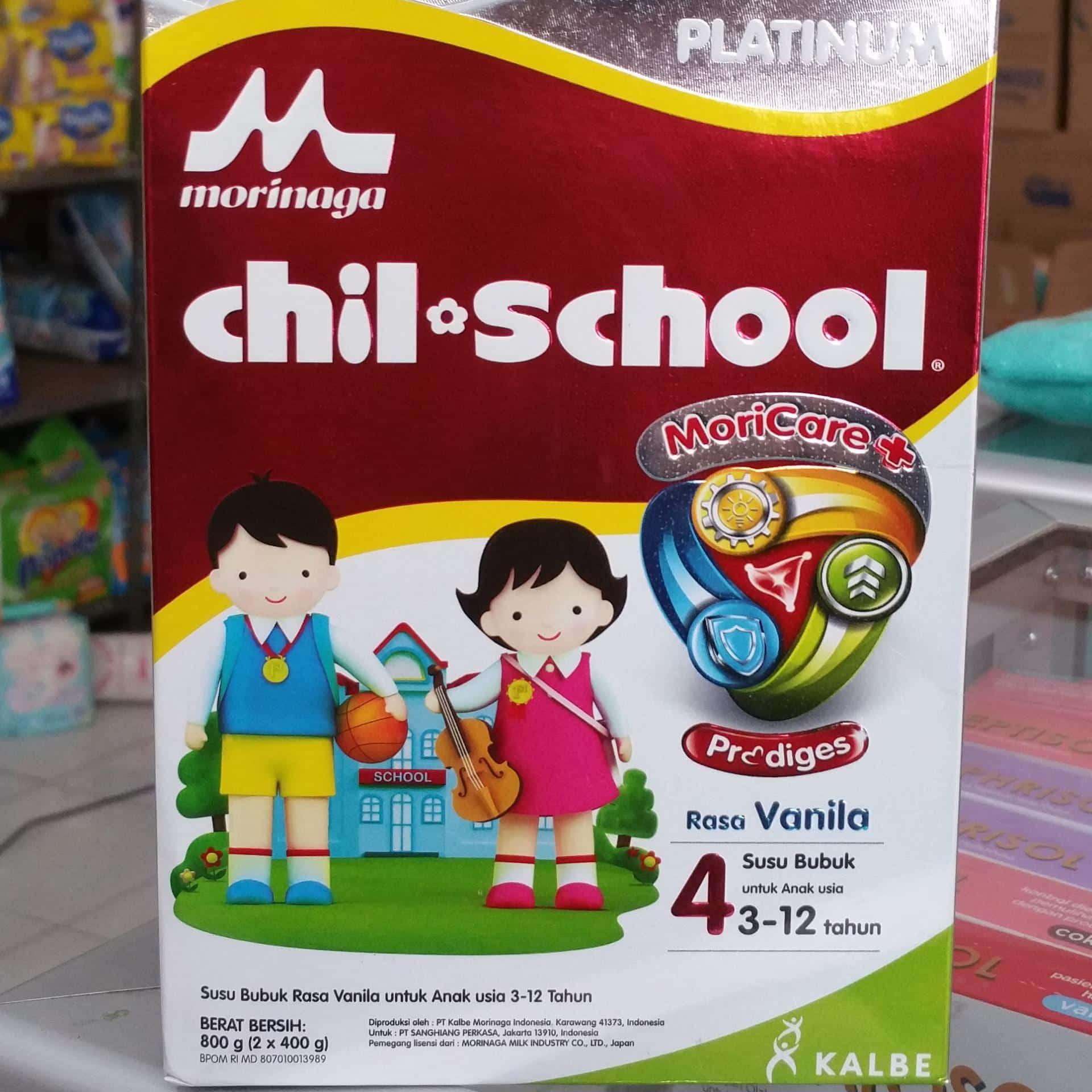 Morinaga Chil School Platinum