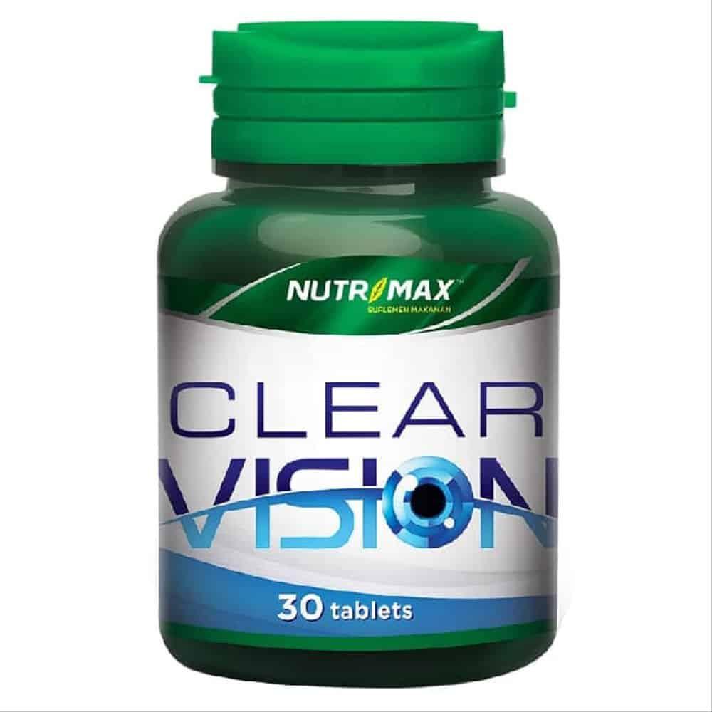 3. Nutrimax Clear Vision Suplemen Kesehatan