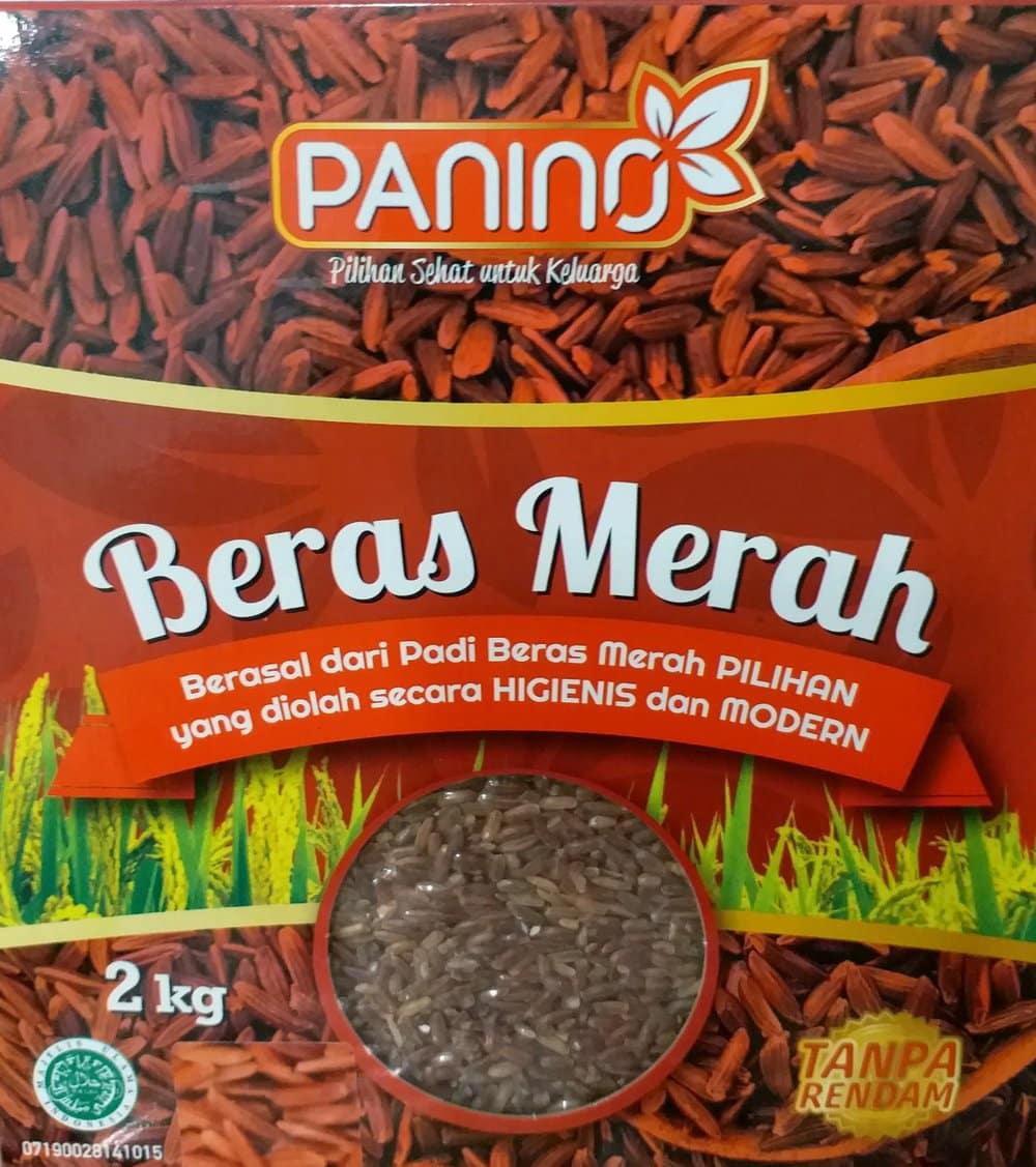 Panino-Beras-Merah-Organik