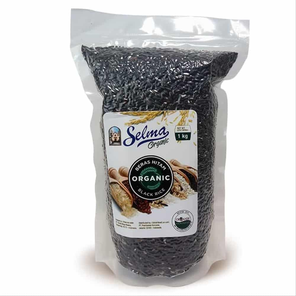 2. Selma Organic Black Rice