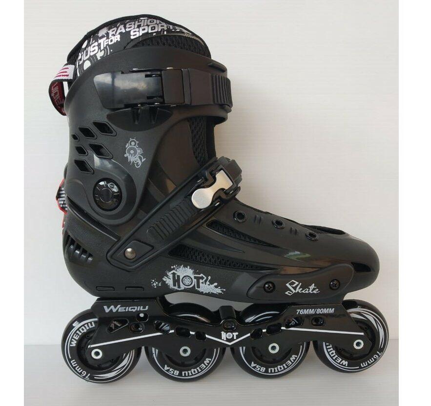 8. Weiqiu EVO Hard Boots Inline Skate