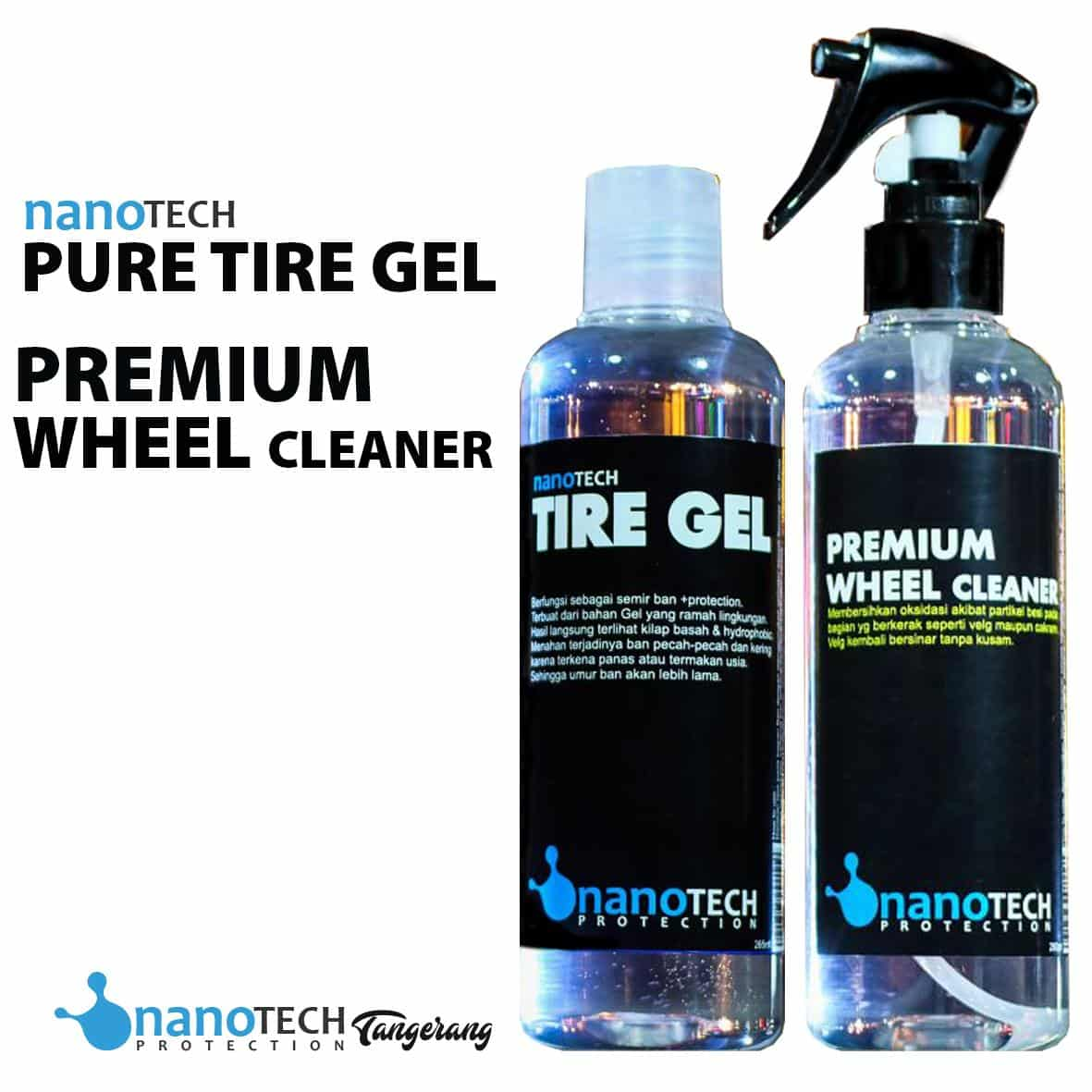 4. Nanotech Pure Tire Gel