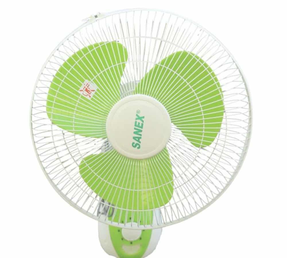 7. Sanex Wall Fan 12 Inch