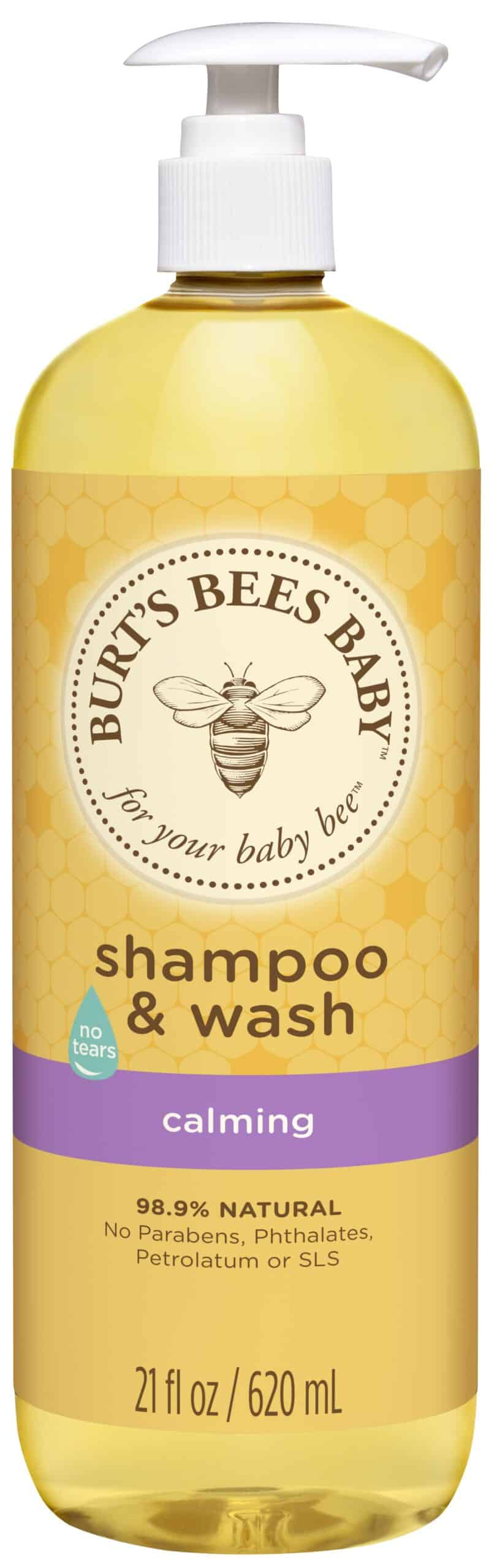 2. Burt's Bees Calming Baby