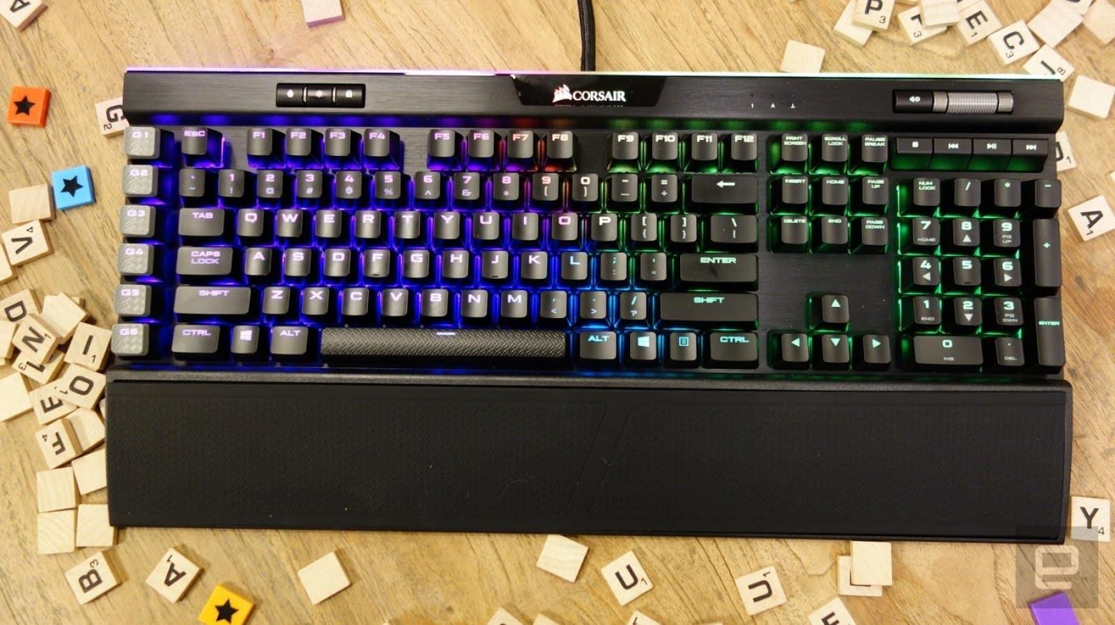 keyboard gaming Corsair K95