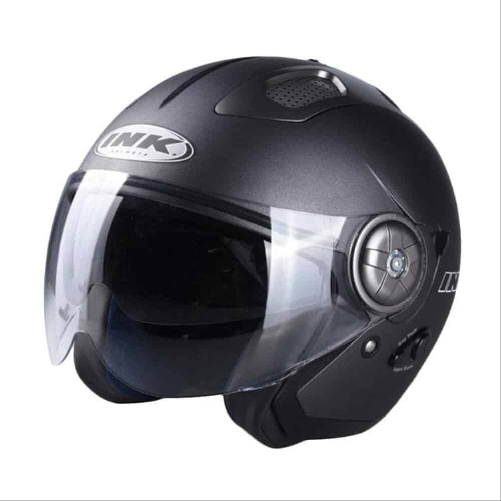 1. INK Stillo Solid Helm Half Face