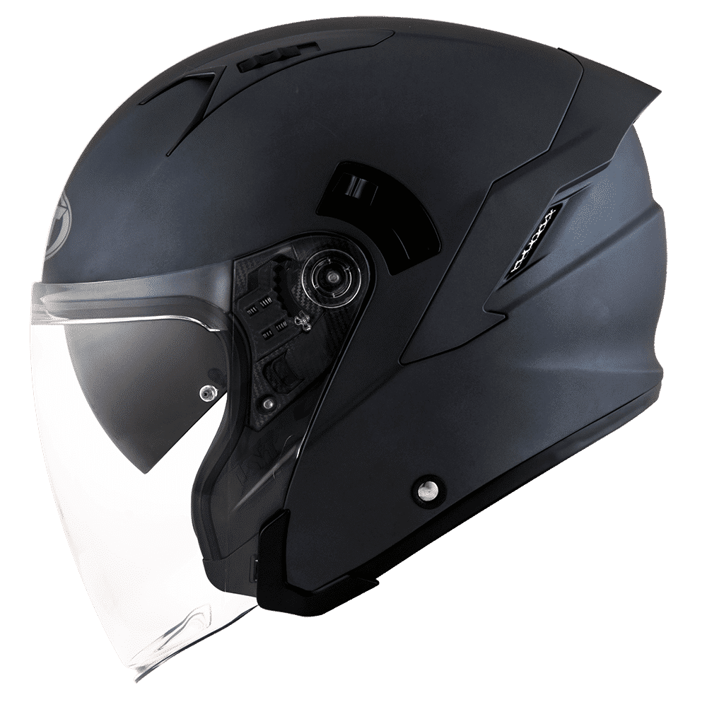 4. KYT Galaxy Slide Solid Helm Half Face