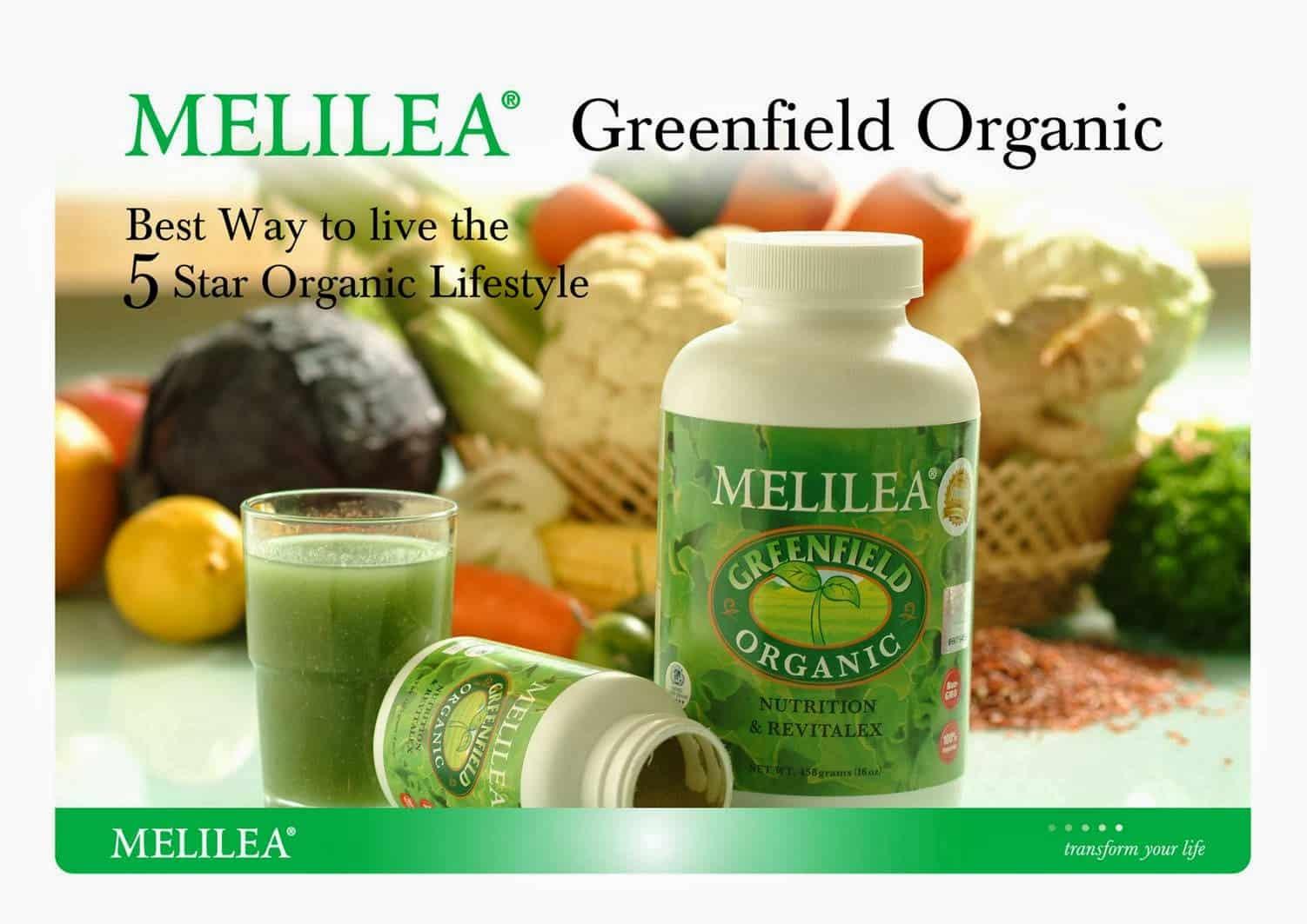 5. Melilea Green Field Organic GFO