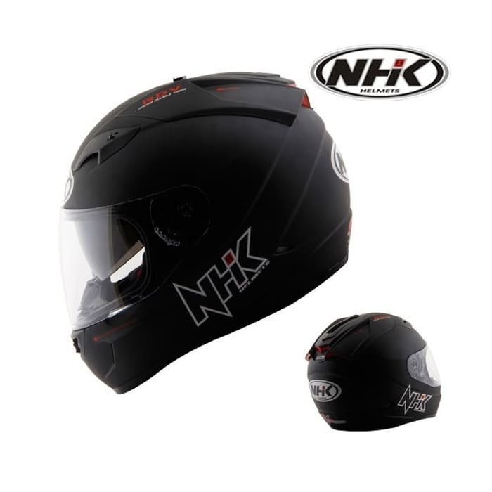 6. NHK GP 1000 Solid Helm Full Face