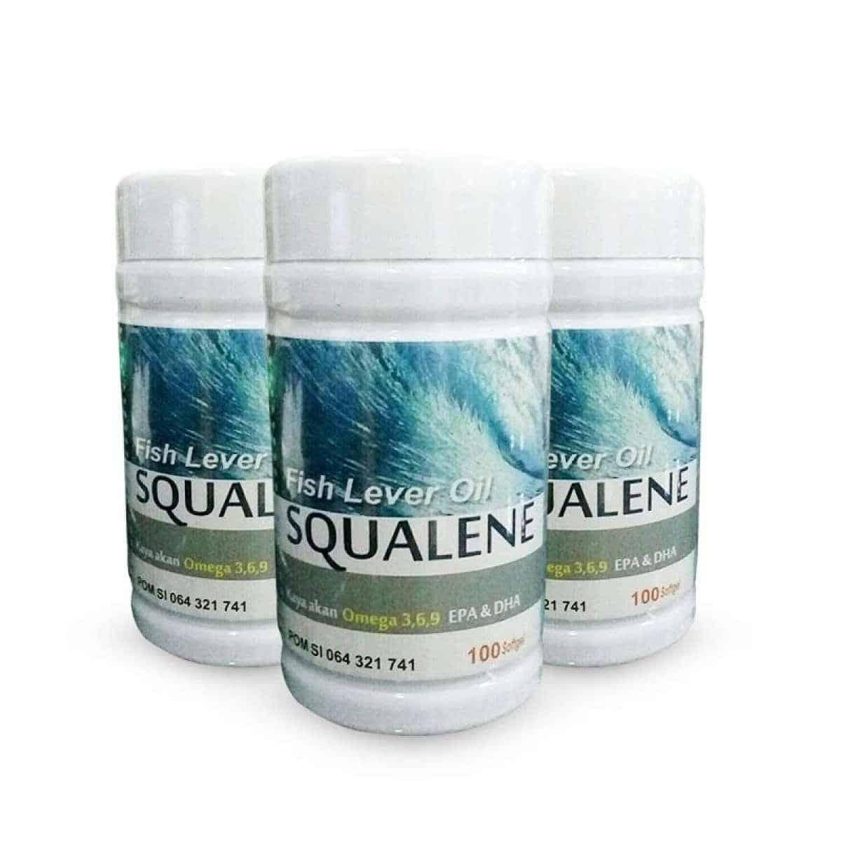4. Squalene Salmon Fish Liver Oil Omega