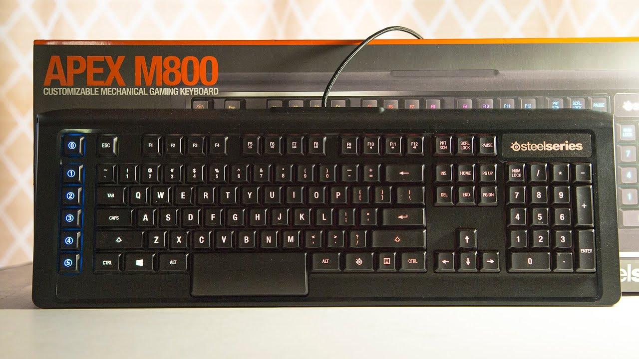 Keyboard gaming Steel Series Apex M800
