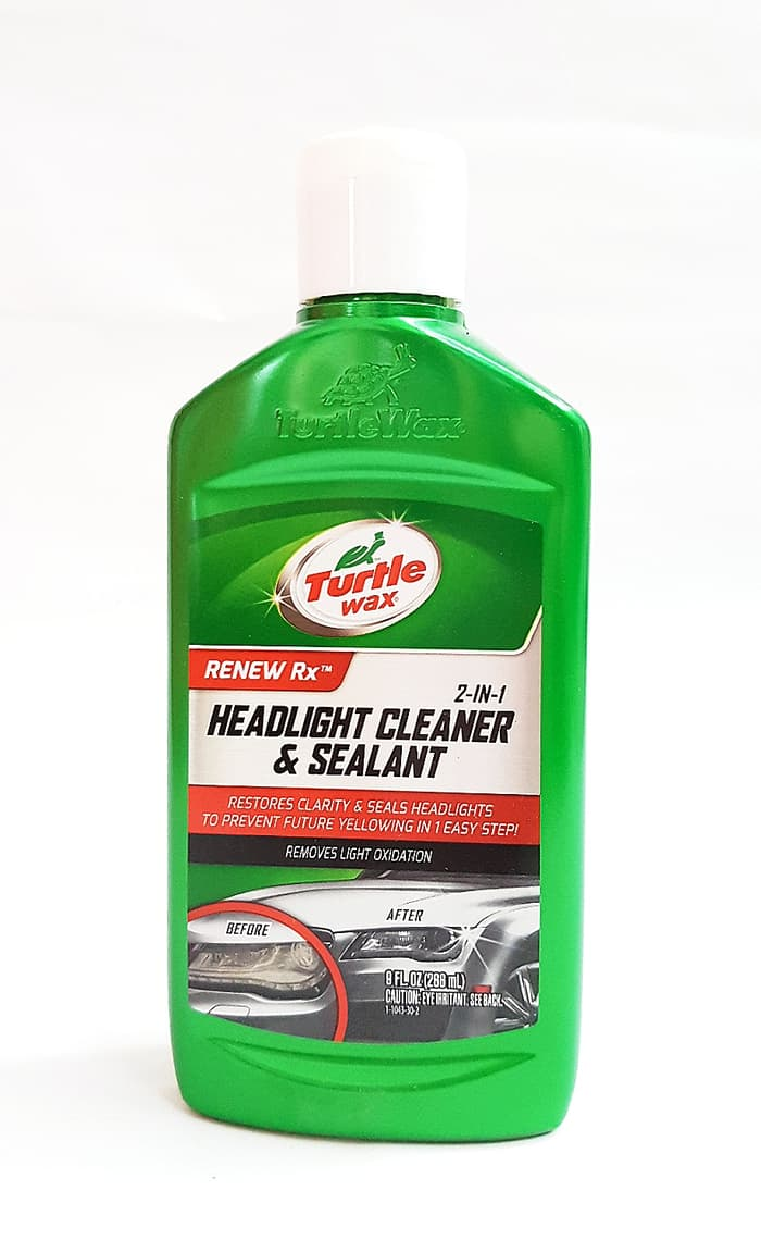 10. Turtle Wax T-43 Headlight Cleaner & Sealant