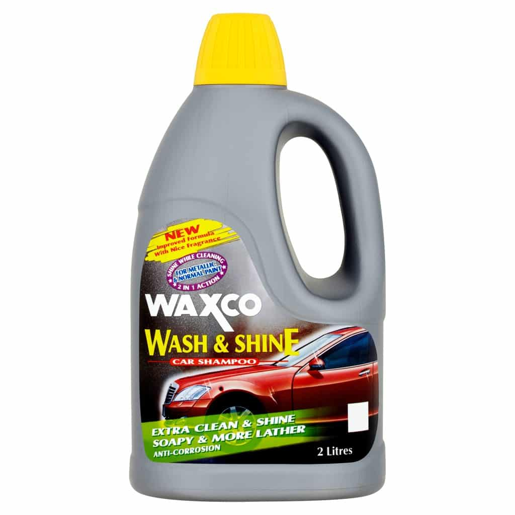 4. Waxco Wash and Shine Car Shampoo