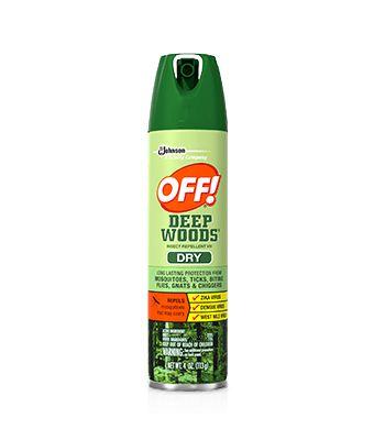 obat nyamuk semprot Off! Deep Woods