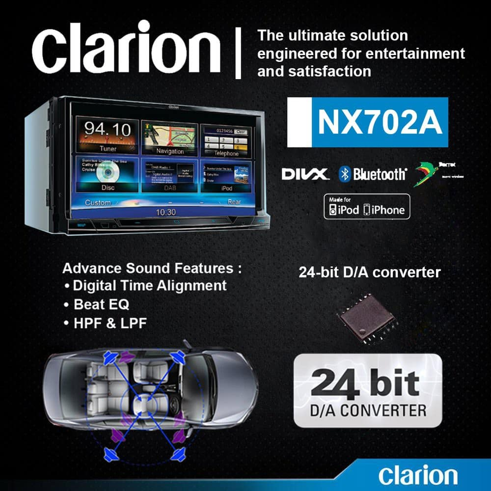 Clarion-NX702A