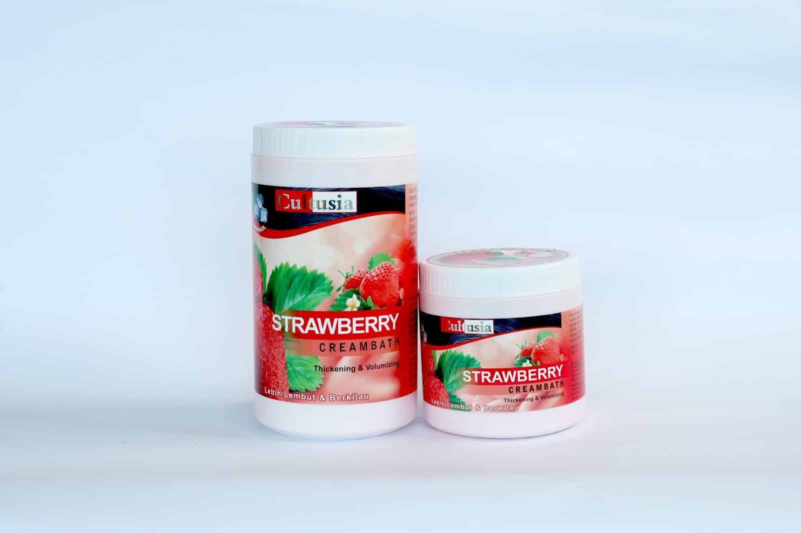 Cultusia-varian-strawberry-creambath