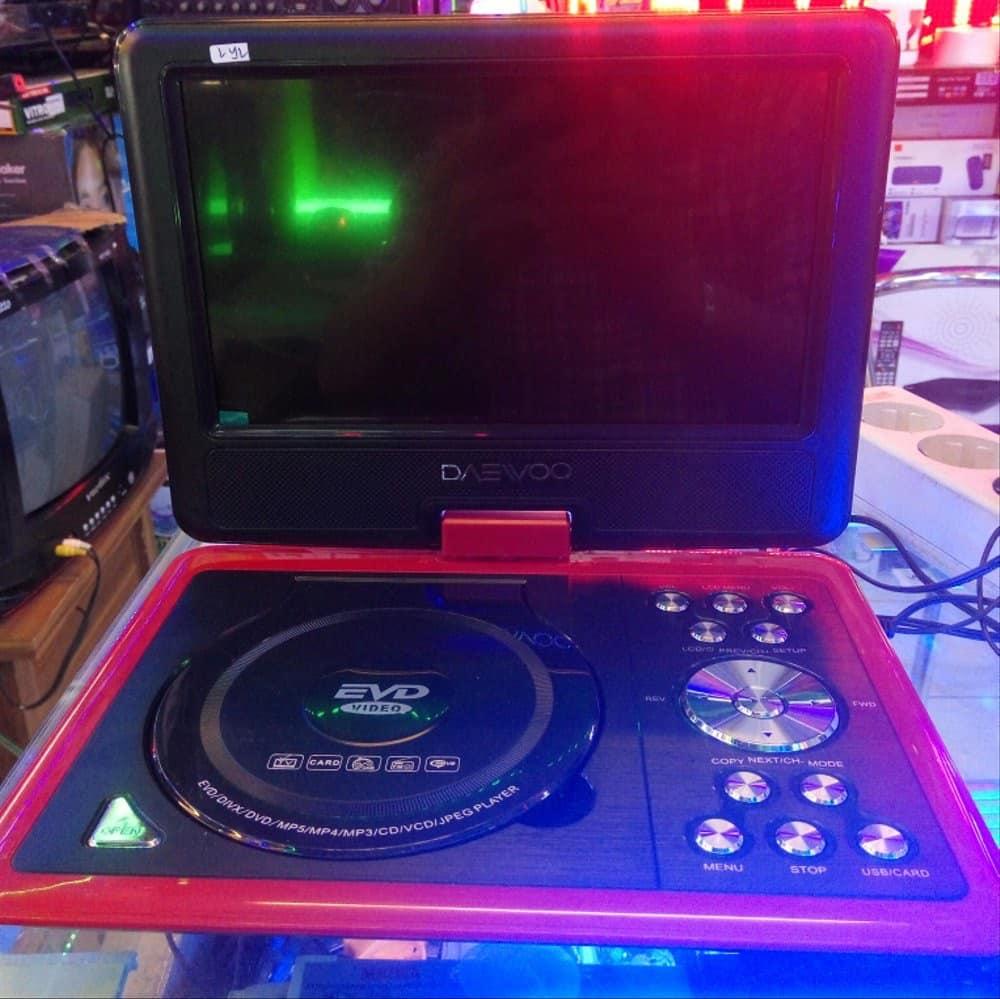 Daewoo-DVD-Player-Portable