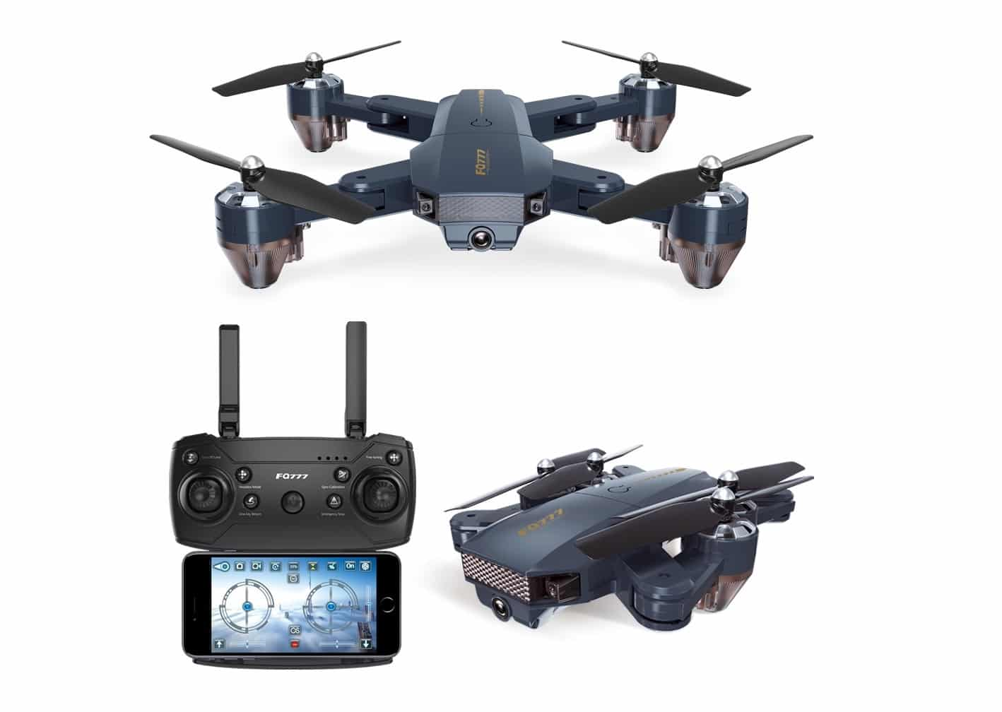 Drone-Mini-Lipat-FPV-GPS-WiFi-Altitude-Hold