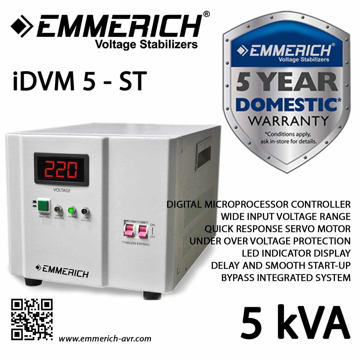Emmerich-5KVA-IDVM-5-5-ST
