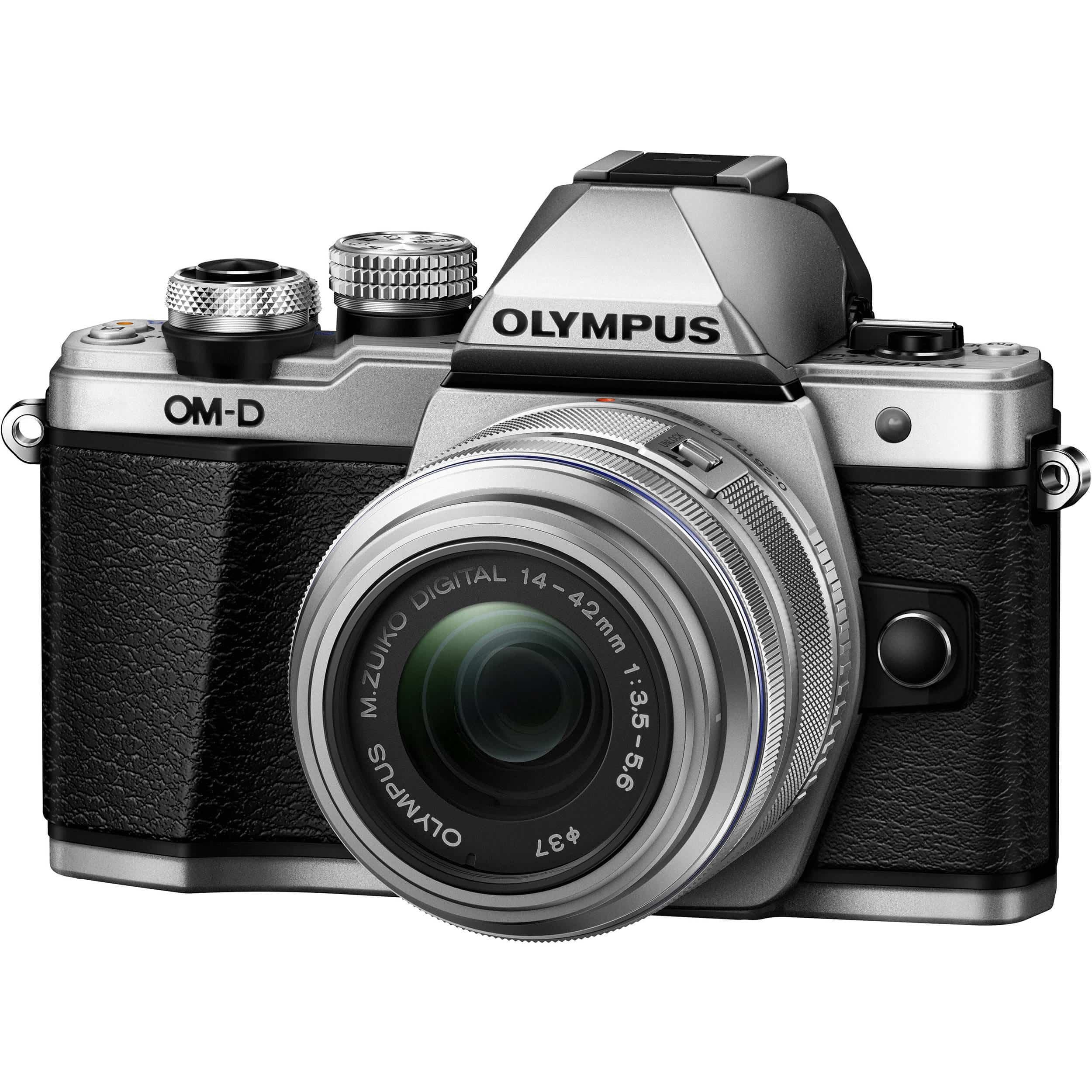 Olympus-OM-D-EM10-Mark-II-Silver