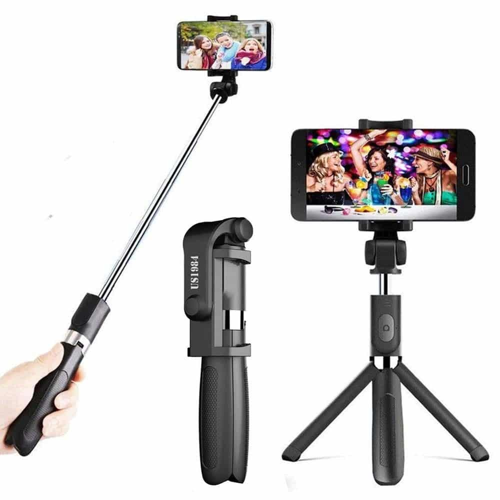 XCSOURCE-wireless-Bluetooth-selfie-stick-expendable-tripod-AC689