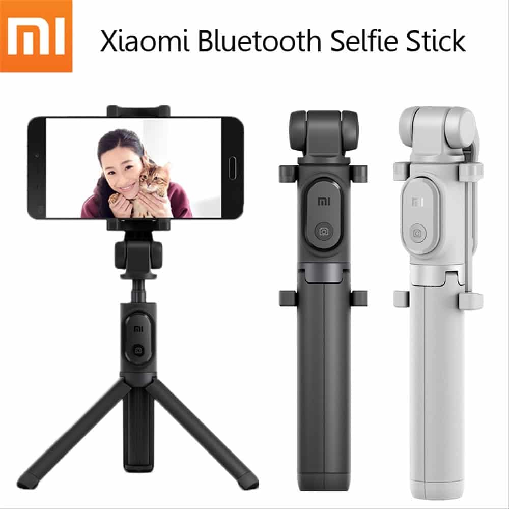Xiaomi-selfie-stick-Bluetooth-remote-shutter-tripod-holder