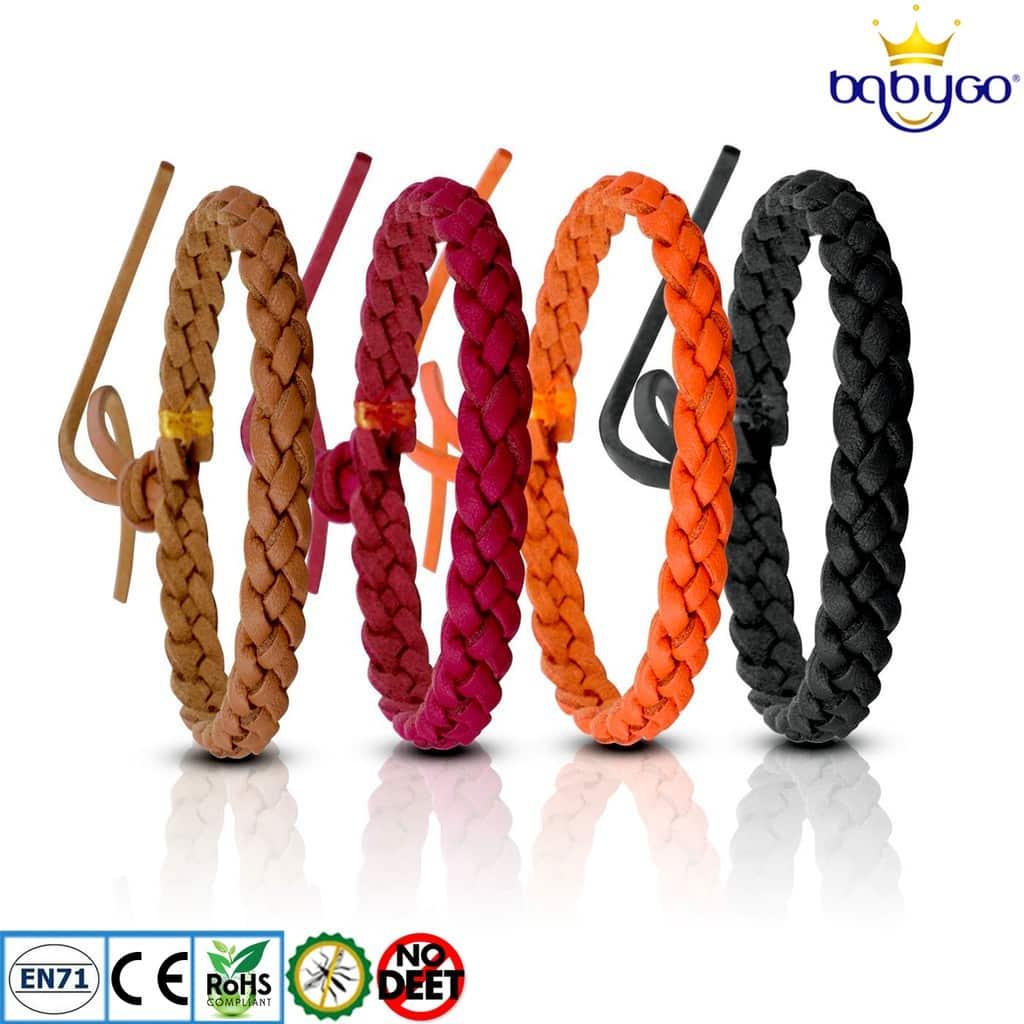 Babygo-PU-Leather-Mosquito-Repellent-Bracelet