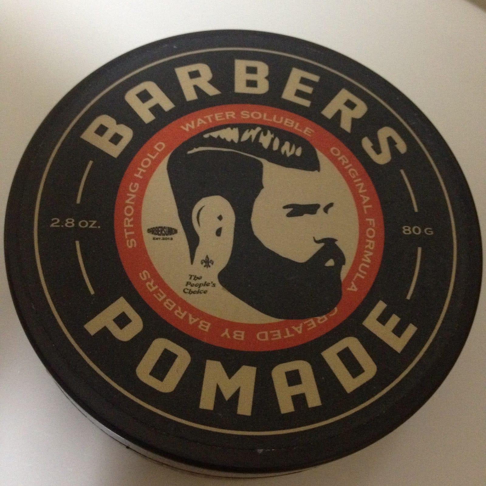 Barbers-pomade