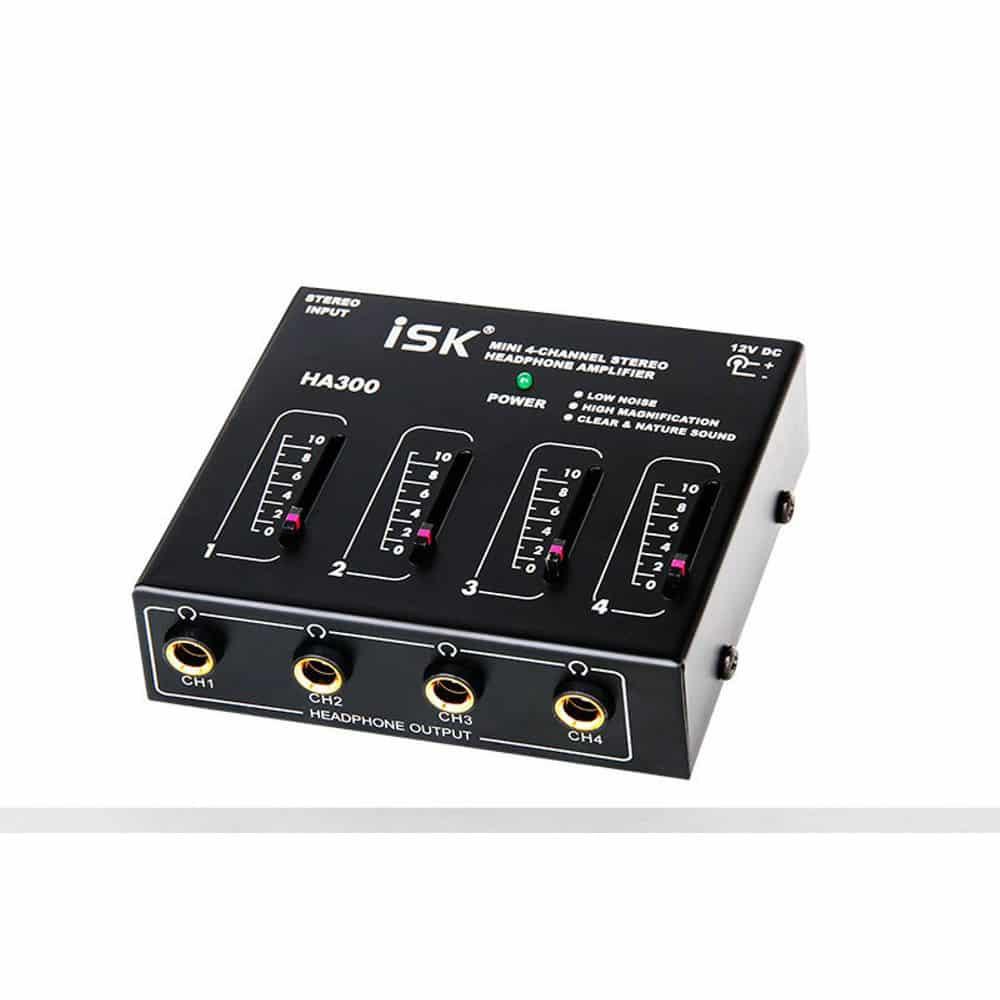 ISK-HA300-Headphone-Amplifier
