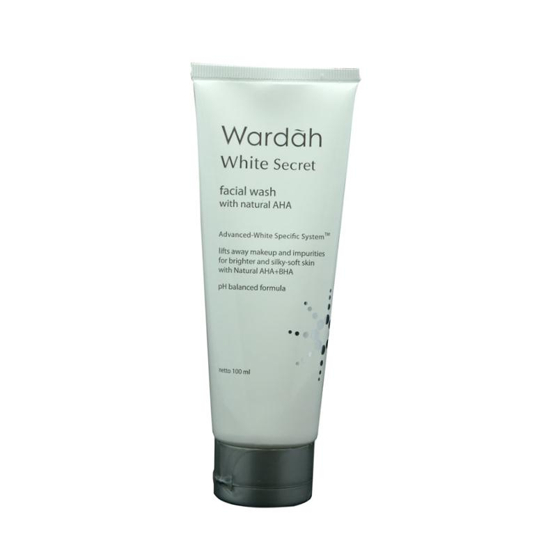Wardah-White-Secret-Facial-Wash-With-Natural-AHA