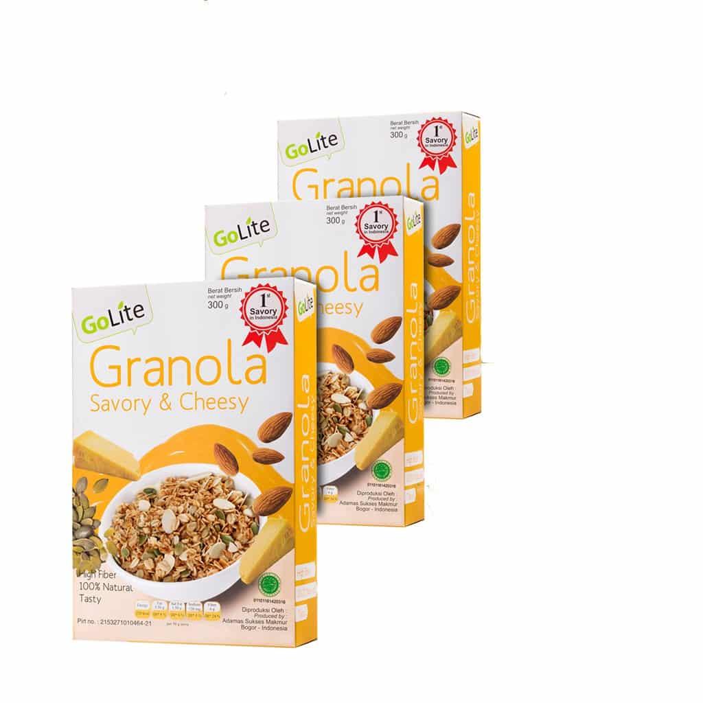 Granola-Savory-Cheesy