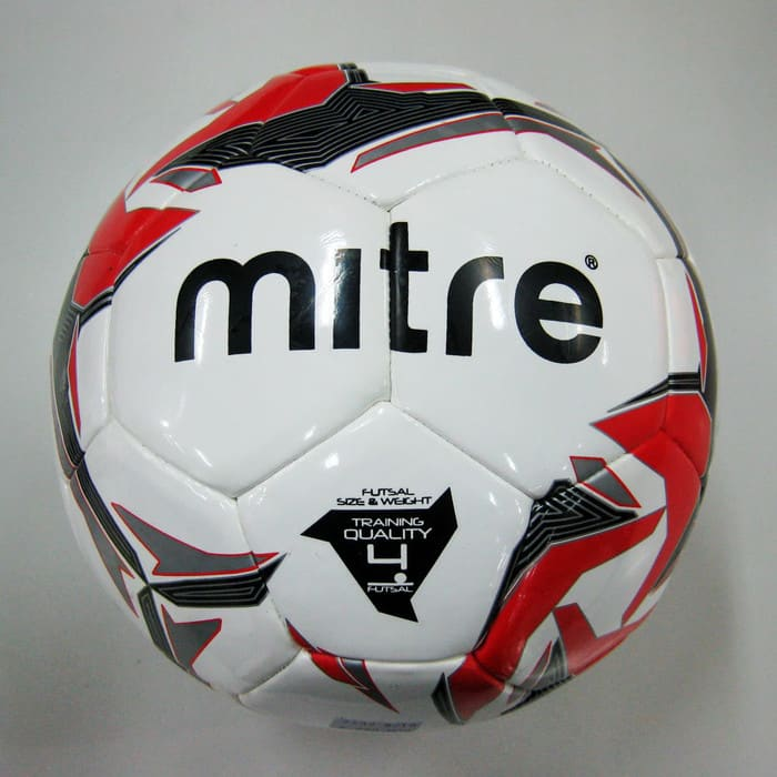 Mitre-Futsal-Tempest-D32P-White-Red-BB9302WYI