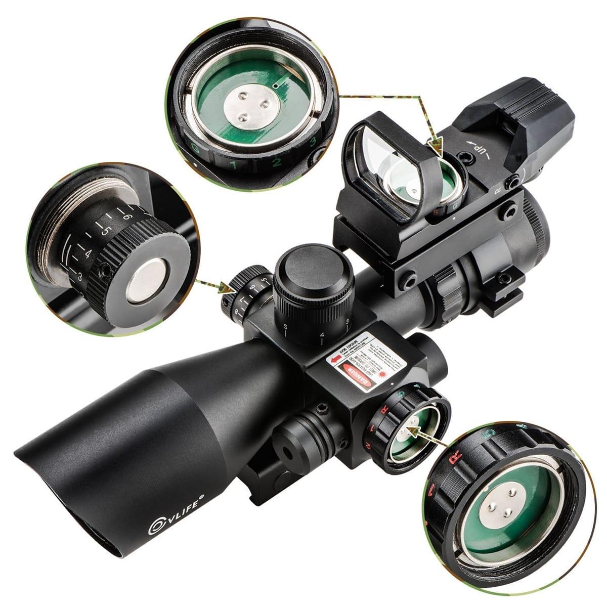 Riflescope-CVLIFE-2.5-10X40e